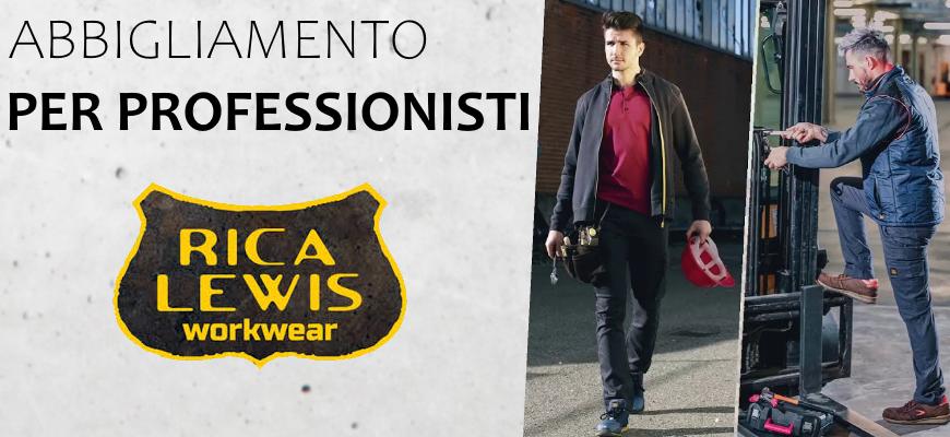 Abbigliamento per professionisti Rica Lewis
